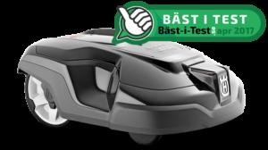 bäst i test robotgräsklippare, automower,