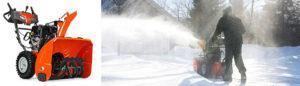 snöslunga, husqvarna snöslunga, medelstora snöslungor